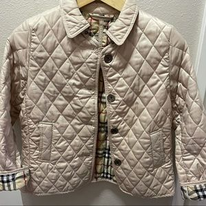 🤍 Burberry Quilted Jacket Beige Size L 🤍